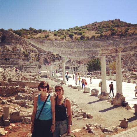 ephesus, ancient ruins, turkey